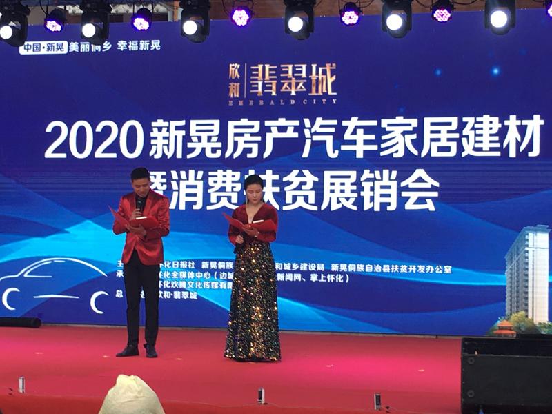 中国新晃2020欣和.翡翠城房产汽车家居建材暨扶贫展销会圆满成功(图3)